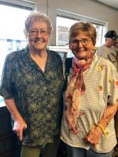 LGAA Treasurer Betty Perkins & LG Treasure Joan Bennett