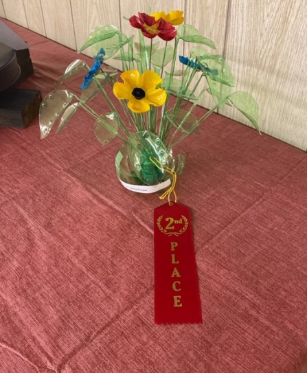 2nd Place Adult: Joan Bennett, Spring Bouquet
