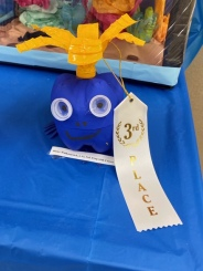 3rd Place 6th-12th Grade: Blaice Walkingstick, Frog with Crown